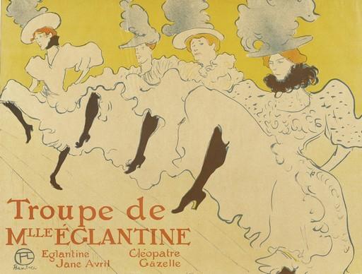 Henri de Toulouse Lautrec plakátja 1895-ből, Kép: wikipedia