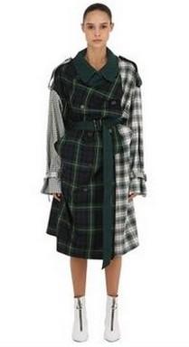 Kockás kabát, Kép: luisaviaroma