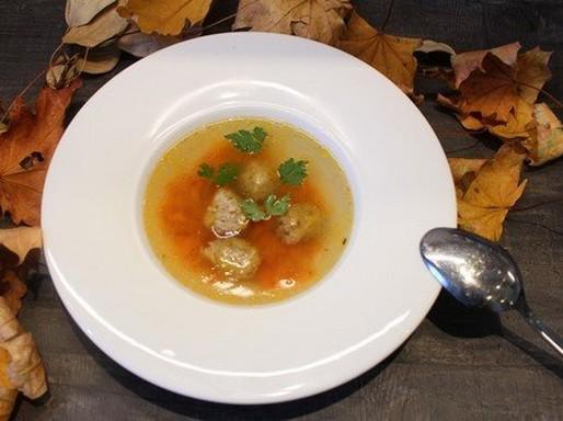 Májgaluska leves, Kép: Hegyvári Zoltán