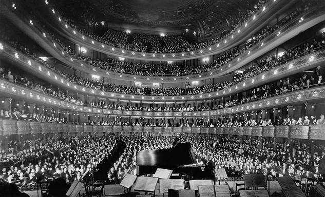 Metropolitan Opera House, Josef Hofmann zongoraestje, Kép: wikimedia