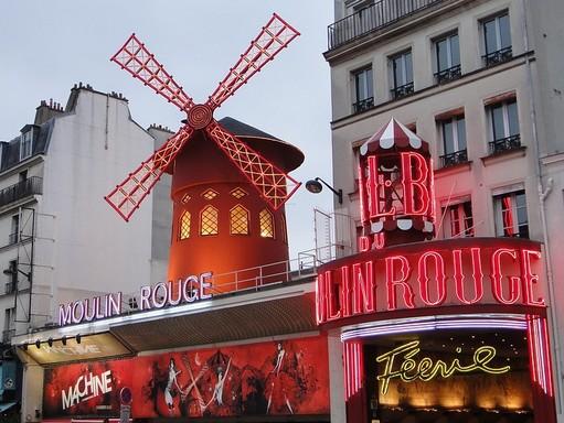 Moulin Rouge, Kép: pixabay
