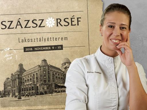 Palágyi Eszter, a százszorséf, Kép: Hotel Gellért