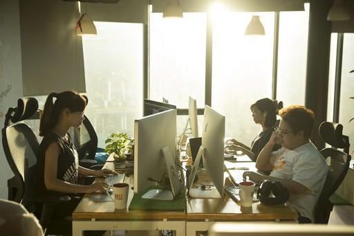 Számítógépes munkahely, Kép: pixabay