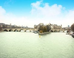 Eiffel-torony, Louvre, macaron, Notre Dami, Párizs, repülés, utazás