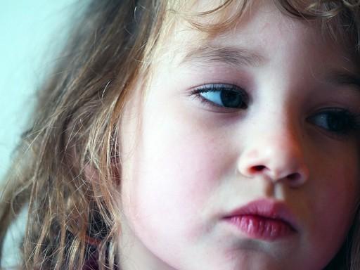 Szomorú kislány, Kép: pixabay