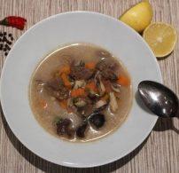 csiperke, erdei gomba, leves, ősz, vadnyúl