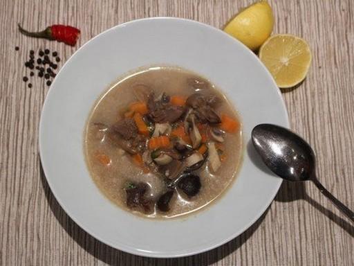 Tejszínes vadnyúl levese, Kép: Hegyvári Zoltán