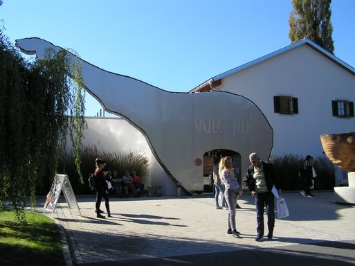 Vulcano bejárata, Kép: László Márta