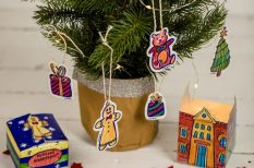 advent, dekoráció, díszítés, karácsony, üdítős doboz