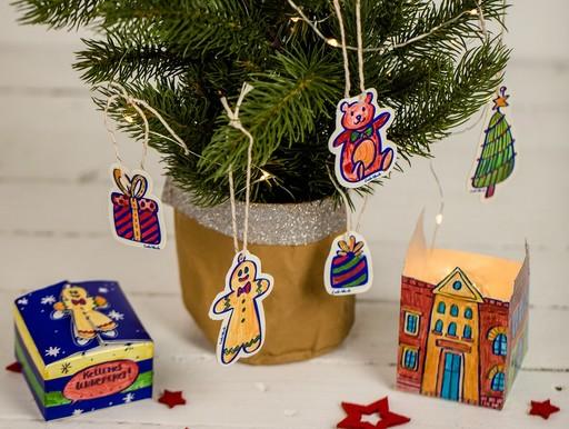 Karácsonyi díszek, Kép: Sió