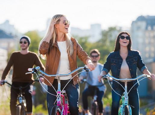 Kerékpározók, Kép: Kerékpérosklub