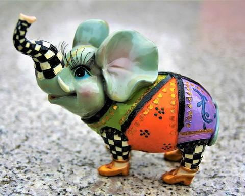 Porcelán elefánt, Kép: pixbay