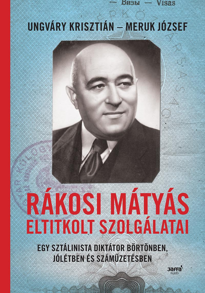 Rákosi Mátyás könyvborító, Kép: Jaffa