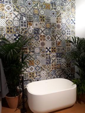 Terazzo a fürdőszobában, Kép: újHÁZ Centrum