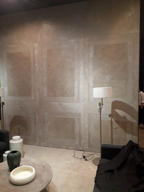 Termeszetes kő a fürdőszobában, Kép: újHÁZ Centrum
