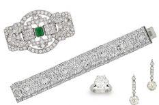 árverés, brill, ékszer, gyémánt, gyöngy, zafír