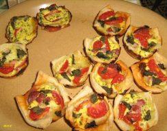 egyszerű, étvágygerjesztő, leveles tészta, télapó, variálható