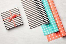 ajándék, csomagolás, fenntarthatóság, hulladék, karácsony, papír, szelektív szemétgyűjtés, ünnepek