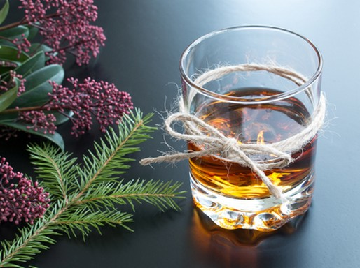 Egy pohár ital, Kép: The Famous Grouse