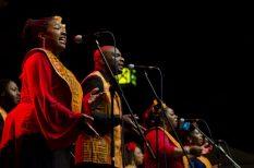 Aretha Franklin, egyház, Harlem Gospel kórus, koncert, művészet, zene