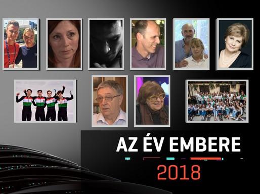 Az Év Embere 2018 jelöltjei, Kép: RTL