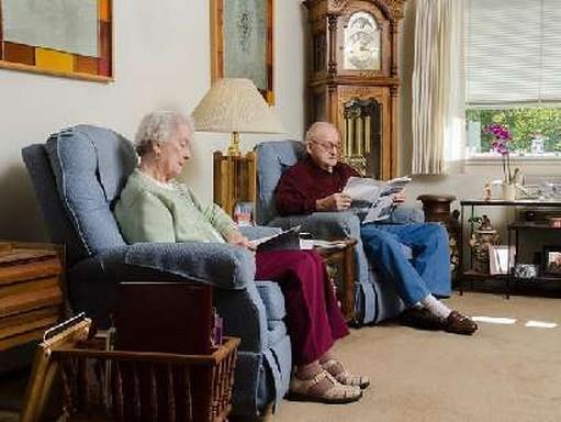 Idősek egy szobában, Kép: felejtek.hu