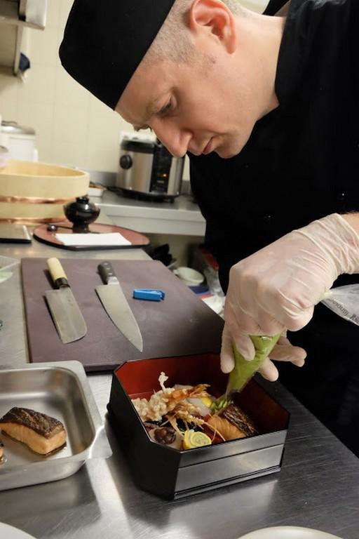 Kurkó Zsolt Európa legjobb japán séfje, Kép: Jókuti András