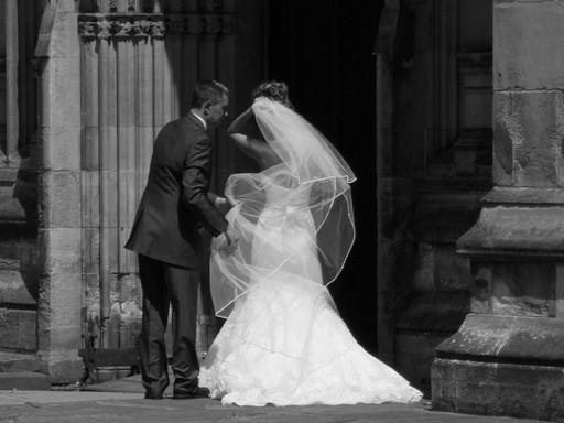 Német menyasszony, Kép: pxhere