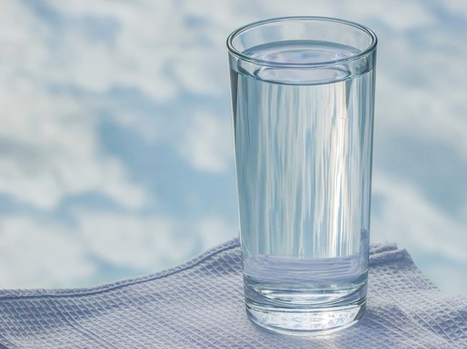 Pohár víz, Kép: pixabay