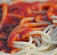 bazsalikom, fokhagyma, parmezán, spagetti, Szicília