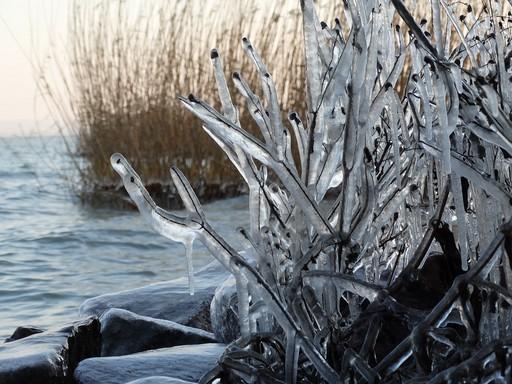 Téli Balaton, Kép: pixabay