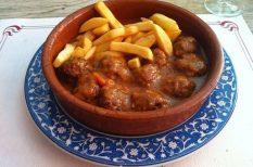 arab konyha, darált marhahús, mediterrán ízek, sherry, spanyolország