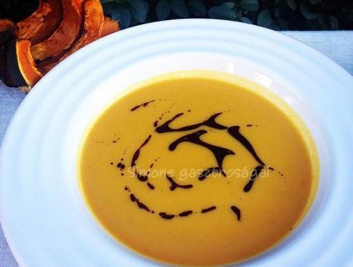 Sütőtökös leves, Kép: Pammer Lívia