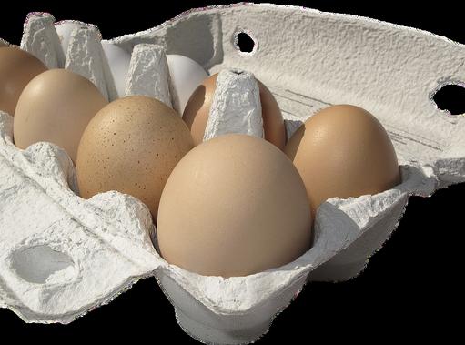 Tojások dobozban, Kép: pixabay