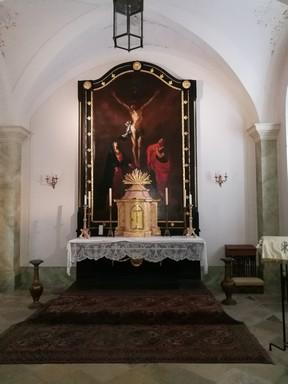 Kápolna oltárképe, Kép: László Márta