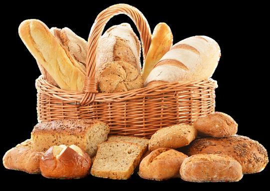 Kenyereskosár péksüteményekkel, Kép: pixabay