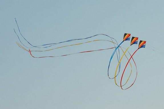 Sárkányok a szélben, Kép: pixabay