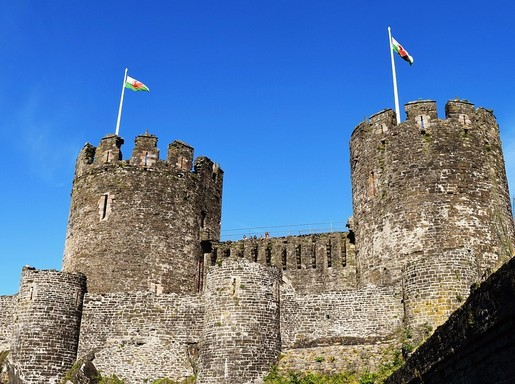 Wales tornyai, Kép: pixabay