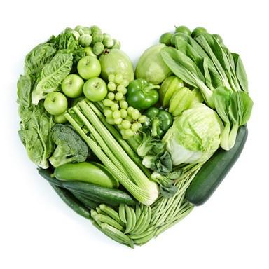 Zöld zöldségek, gyümölcsök, Kép: Kaviczky