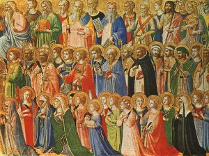 Fra Angelico Mindenszentek, National-Gallery, London, Kép: wikipedia