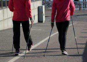 Séta, nordic walking, Kép: PP-archív