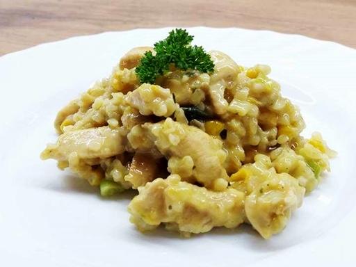 Currys csirke bulgurral, Kép: Kandikó Judit