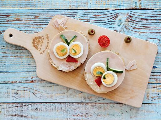 Pulykasonkás angry bird-szendvics, Kép: gallicoop