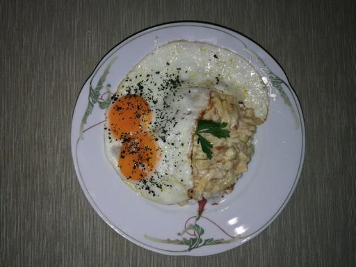 Zöldbab tükörtojássa, Kép: László-Márta