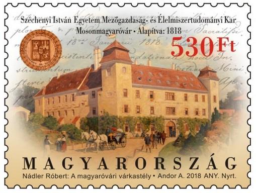 Egyetemi bélyeg, Kép: Magyar Posta