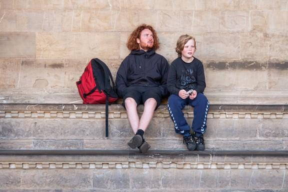 Barátság, két fickó, Kép: pixnio
