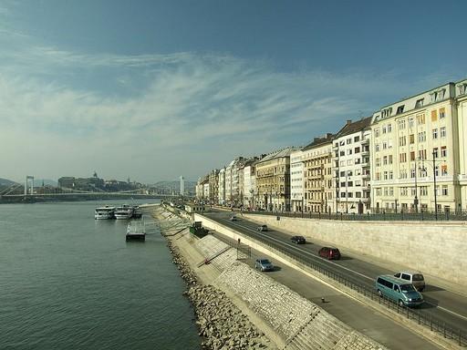 Budapest, Bem rakpart, Kép: wikipedia