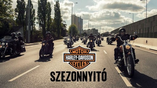Harley-s felvonulás, Kép: sajtóanyag