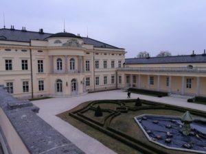 Kastély főbejárat, Kép: László-Márta