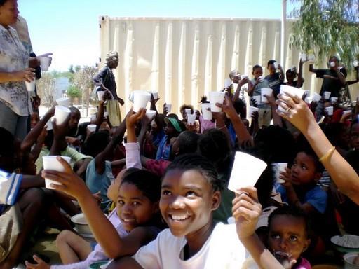 Namíbia, iskola, Kép: pixnio